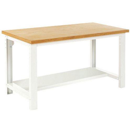 Arbetsbord Bott 150 cm linoleum med underhylla