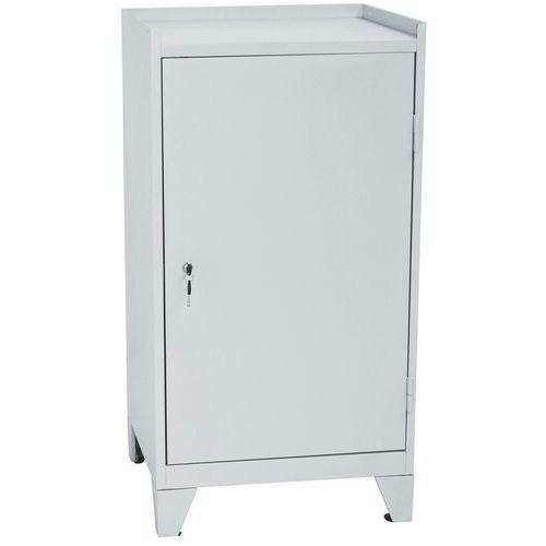 Verktygsskåp på fot 2 dörrar med låda