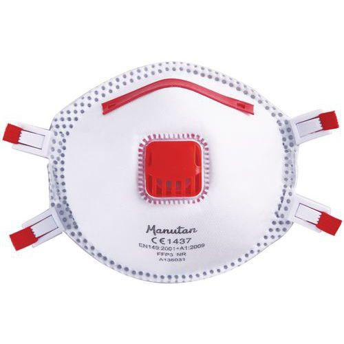 Vikbar halvmask FFP3 Manutan