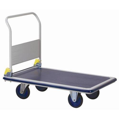 Hopfällbar metallvagn – Lastkapacitet 500kg