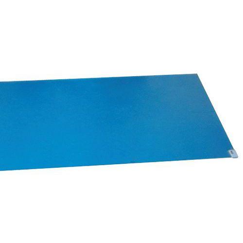 Klibbmatta blå