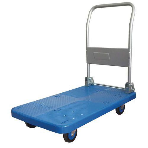 Platåvagn med fällbar rygg 200 kg