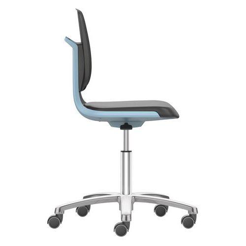 Labsit ergonomisk arbetsstol, polyuretan
