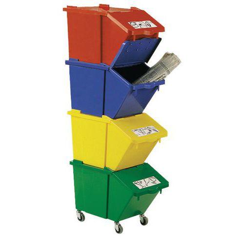 Källsorteringsbox 45 L