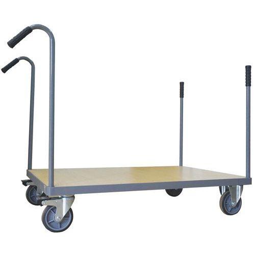 Chariot montants amovibles - Capacité 500 kg - Manutan