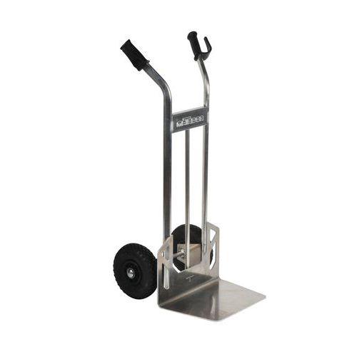 Magasinkärra i aluminium – Pneumatiska hjul – Kapacitet 200kg