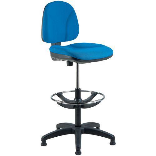 Ritbordsstol Blå