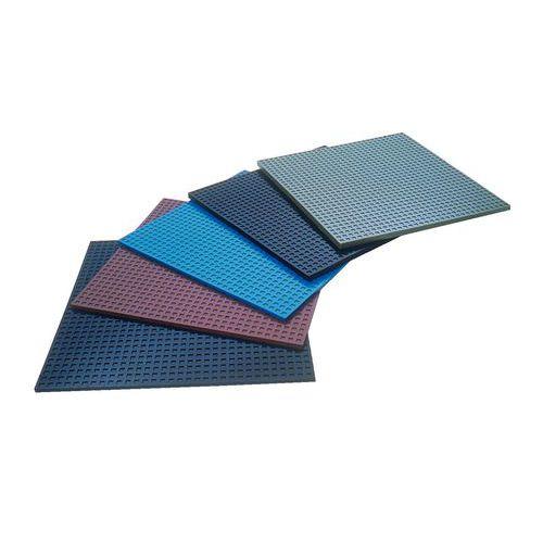 Vibrationsdämpare platta grå