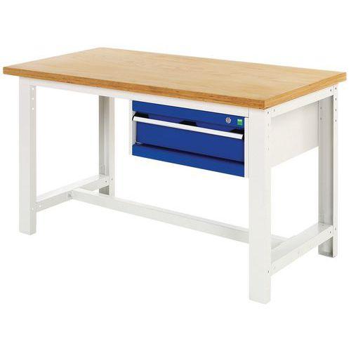 Arbetsbord Bott 150 cm plywood med 1 låda