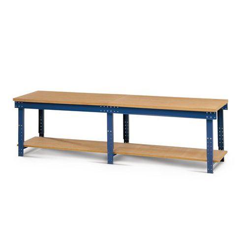 Arbetsbänk 151 Flex plywood 150 x 75 x 65/100