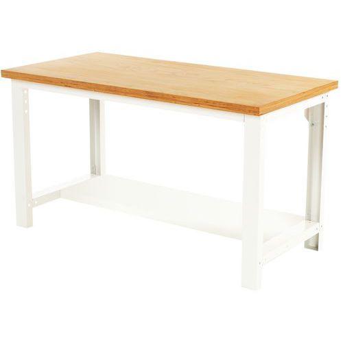 Arbetsbord Bott 200 cm plywood med underhylla