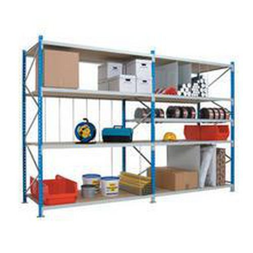 Bredfackshylla Flexi-Store: Påbyggnadssektion