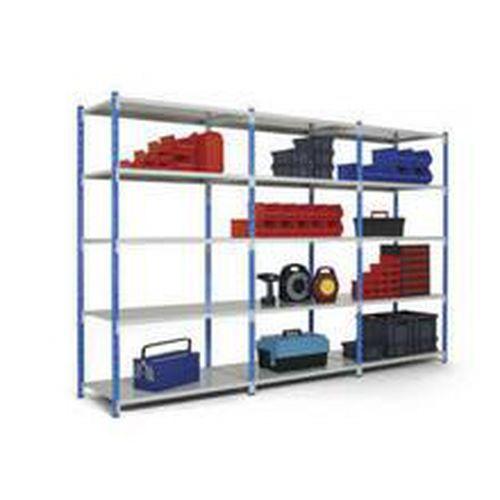 Lagerhylla Combi-Flip Steel: Påbyggnadssektion
