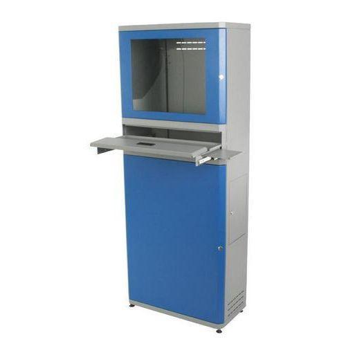 Datorskåp Plattskärm blått