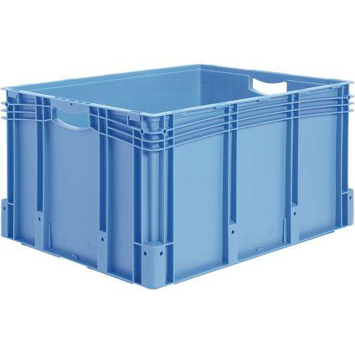 Plastback blå