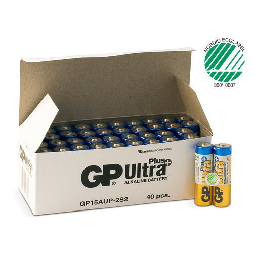 Batteri GP Ultra Plus Alkaline