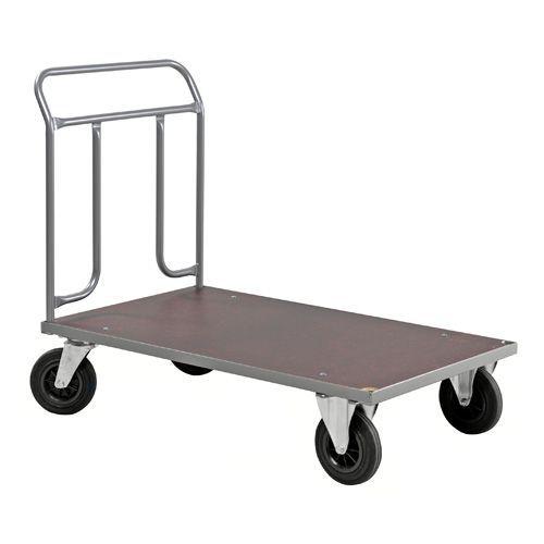 Plattformsvagn grå