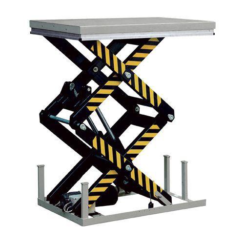 Lyftbord med vertikal dubbelsax