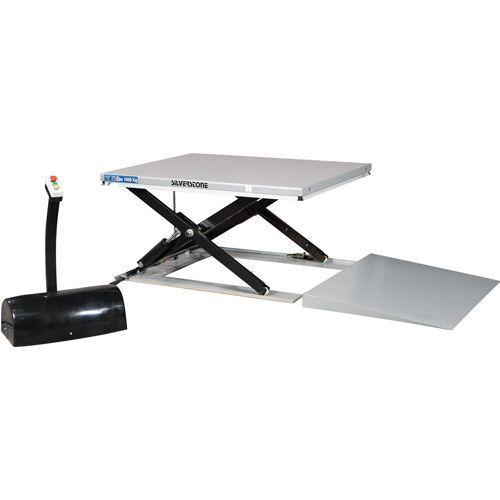 Lyftbord lågprofil med ramp