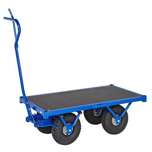 Transportvagn blå