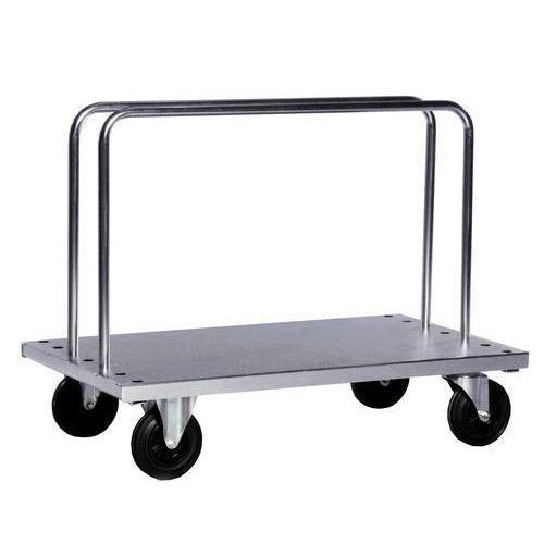 Vagn för skivor/långa lådor