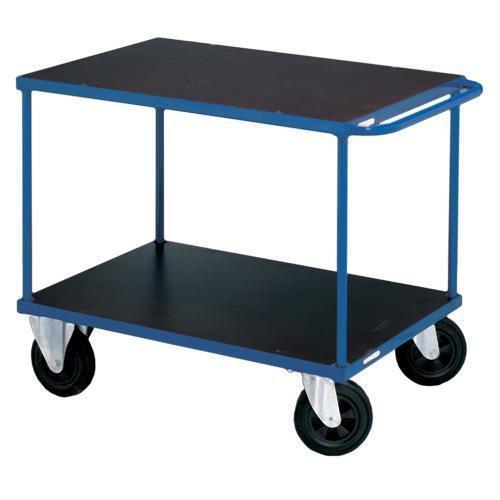 Bordsvagn Manutan Rulle - Du väljer själv vilka slags hjul du behöver