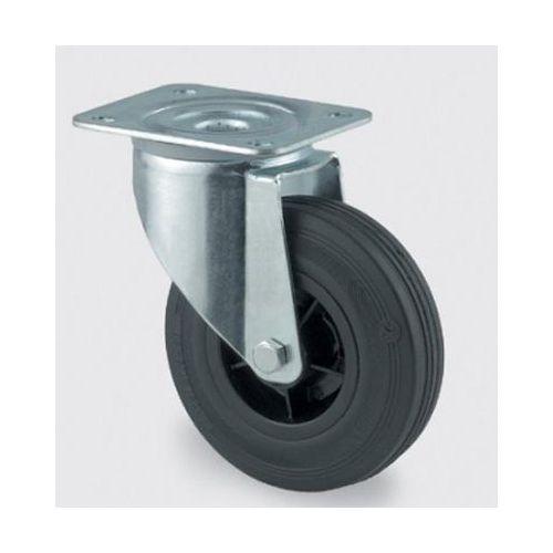 Luftgummihjul med plastfälg