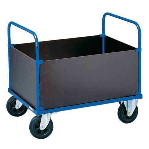 Lådvagn hög Rulle