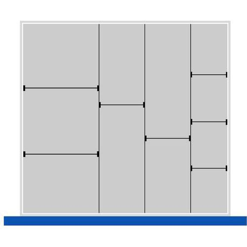 Stick- och skiljeväggar / Plastlådor / Plastrännor till Bott Cubio