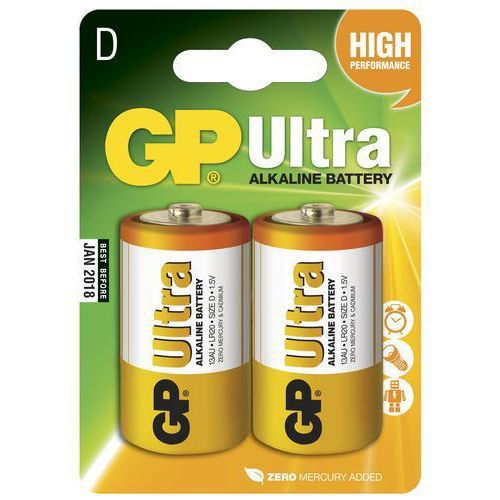 Batteri, GP Ultra Alkaline