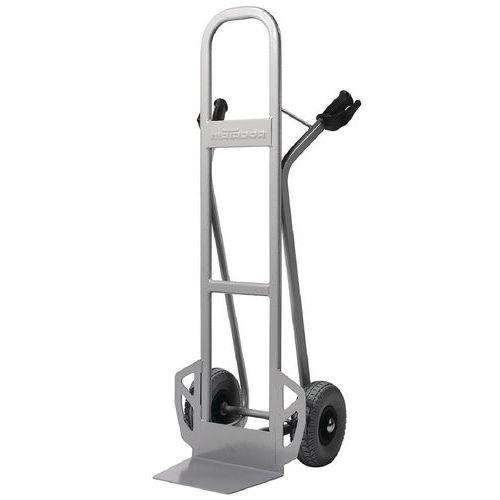Magasinkärra 350 kg Hög rygg, Massivgummihjul
