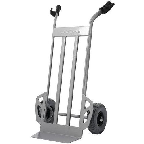Magasinkärra 350 kg Massivgummihjul, grå